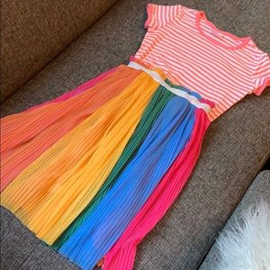 Hannah Andersson Long Tulle Rainbow Skirt w/top